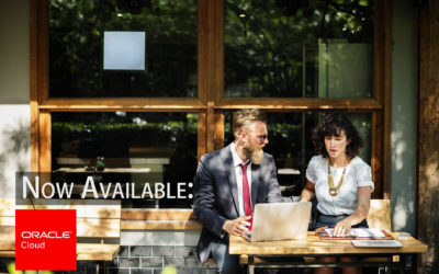 Now Available: Oracle Cloud