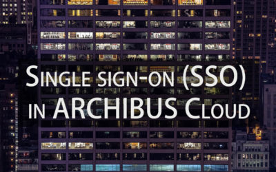 Single sign-on (SSO) in ARCHIBUS Cloud
